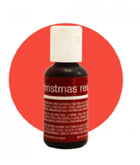 Chefmaster Christmas Red Liqua Gel Color