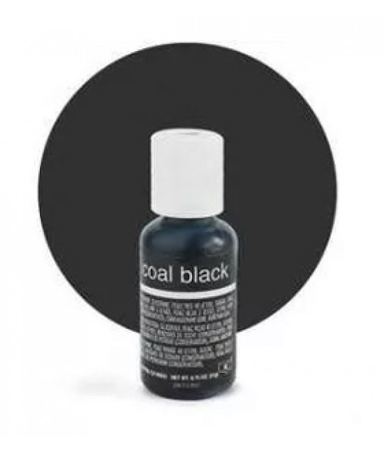 Chefmaster Liqua Coal Black Gel Color