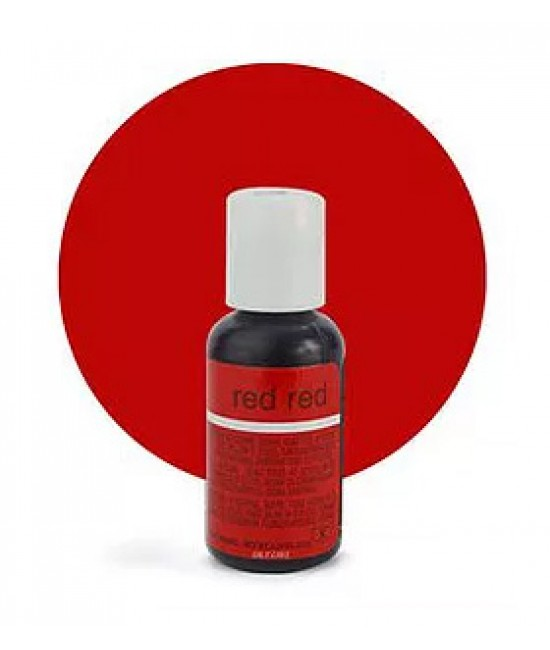 Chefmaster Red-Red Liqua Gel Color