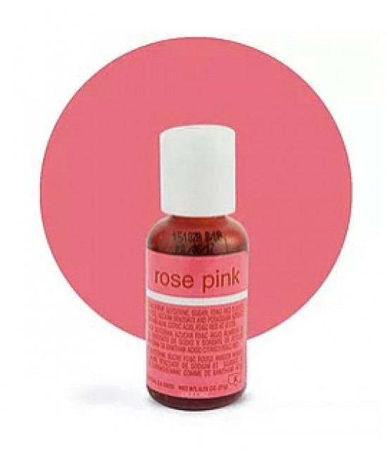 Chefmaster Rose Pink Liqua Gel Color