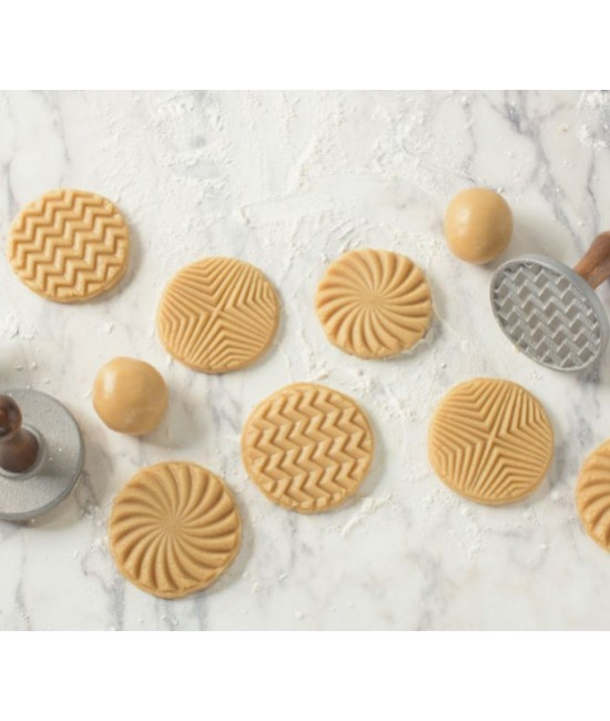 Geo Cast Cookie Stamps
