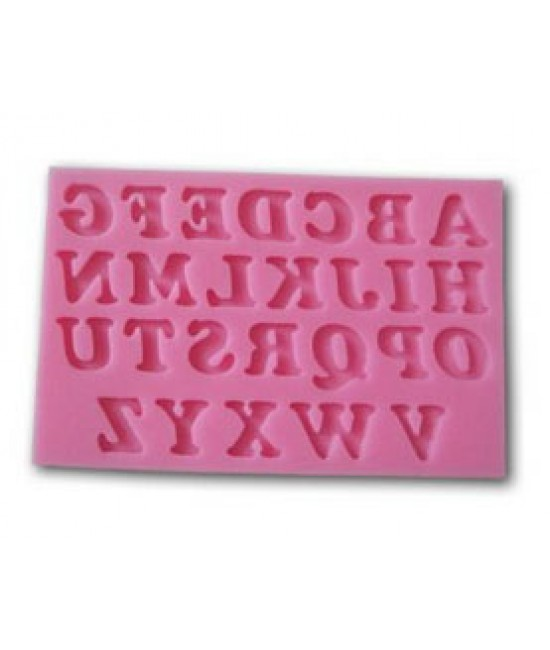 Alphabet Upper Case Silicone Letter Tray
