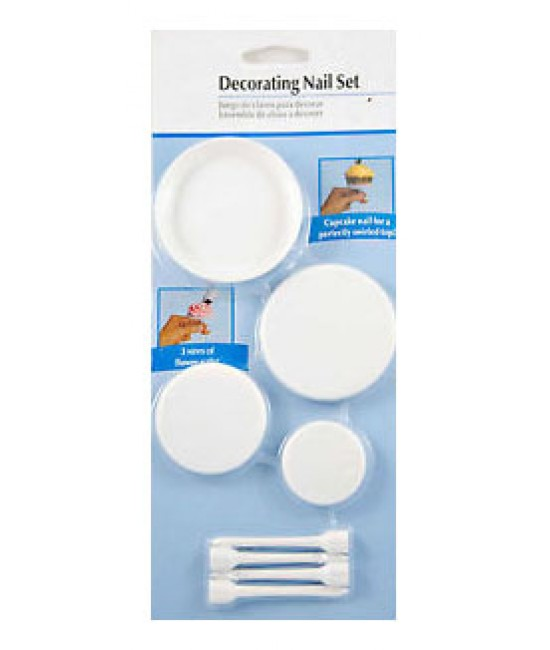 Cake Decorating Nail Set : Decorating Nail Set - Online Baking Supplies Store in the ...