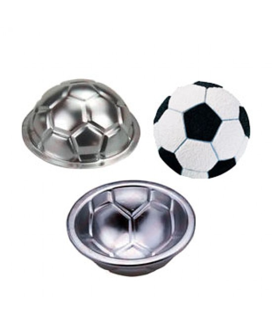 3D Mini Football Cake Pan