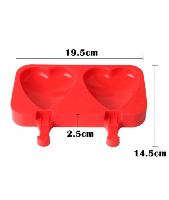 Heart Shape Ice Cream Mold