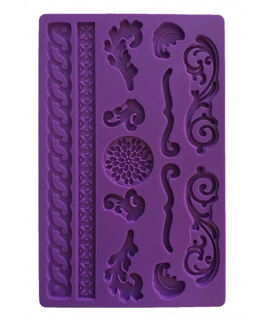 Lace Silicon Mould