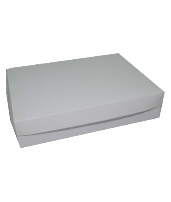 10x14x3 White /White Lock & Tab Box Set