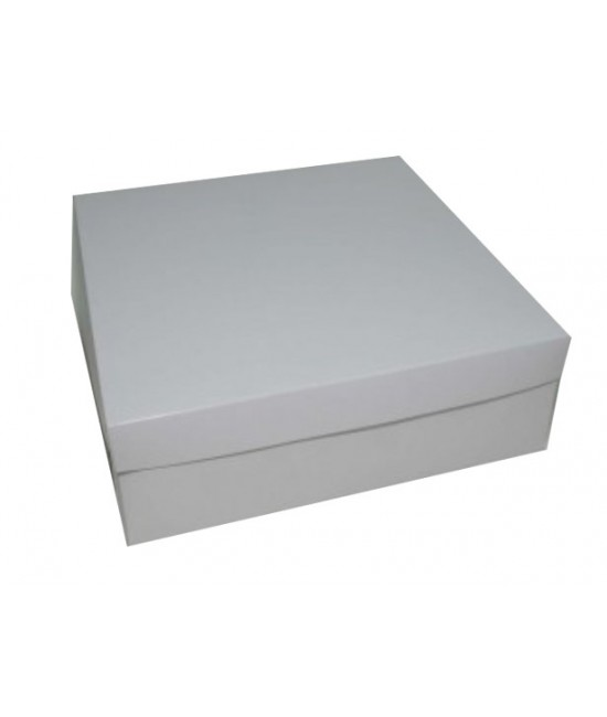 12x12x4 White /White Lock & Tab Box Set