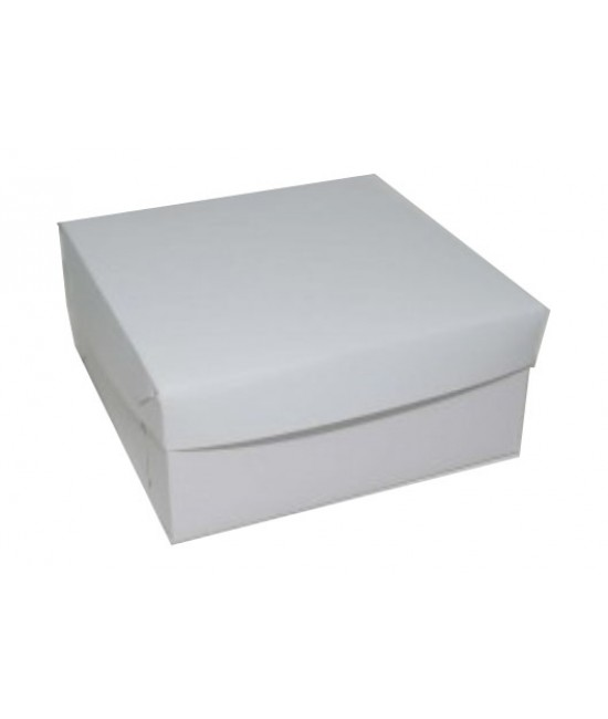 8x8x4 White /White Lock & Tab Box Set