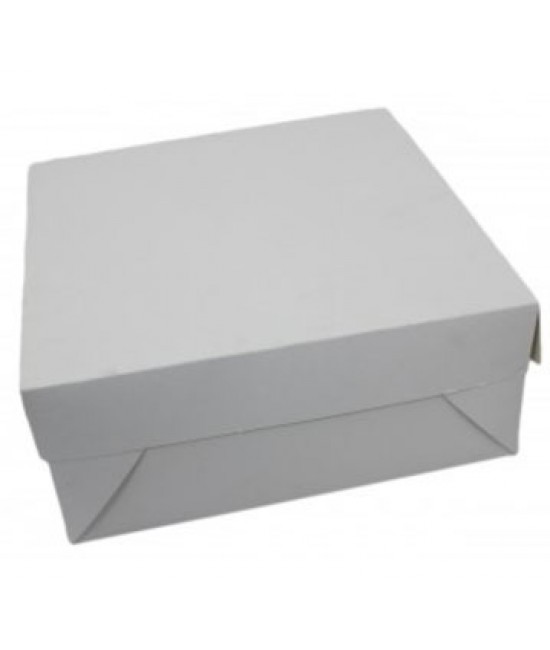 10x10x2 White/White Lock & Tab Box Set
