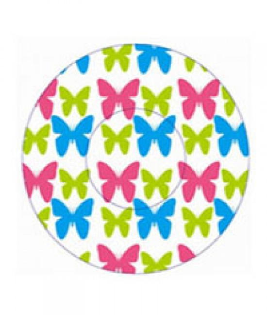 Butterfly Print Baking Cup