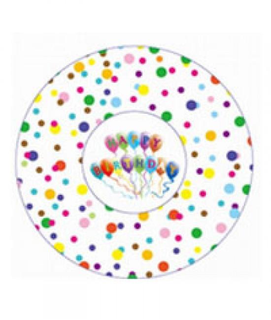 Polka Dots with Happy Birthday