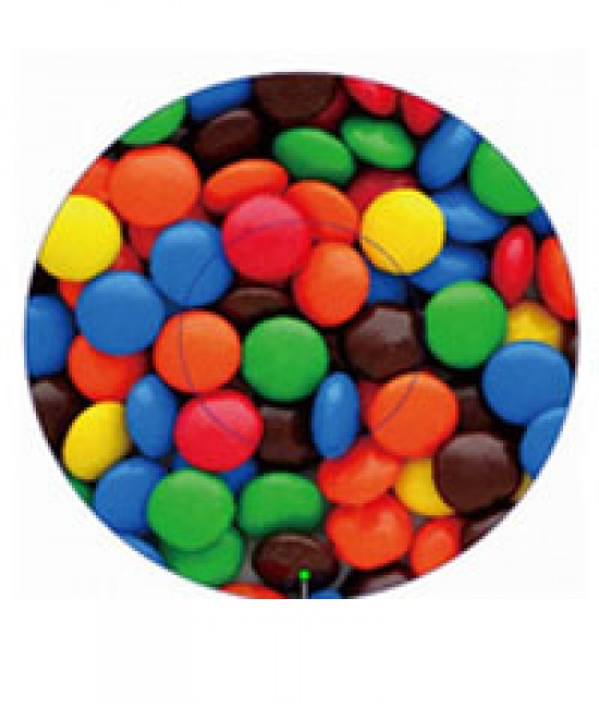 Colorful M & M's Baking Cup