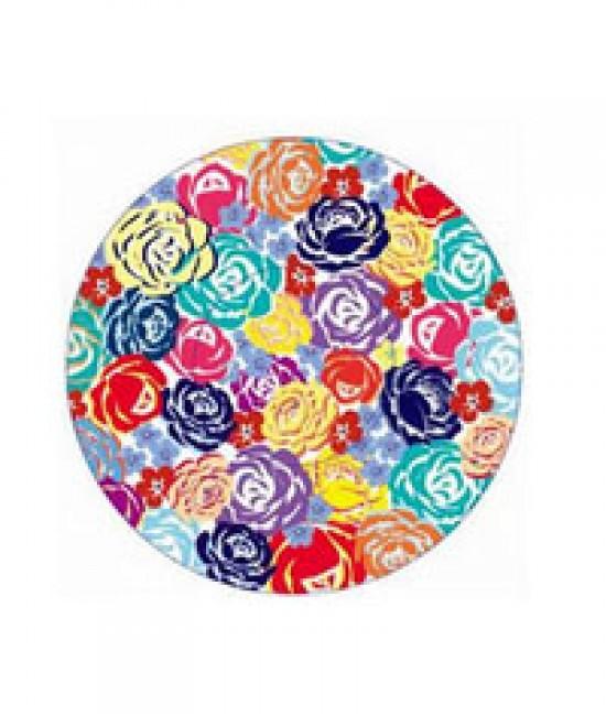 Floral Paint Print Baking Cup