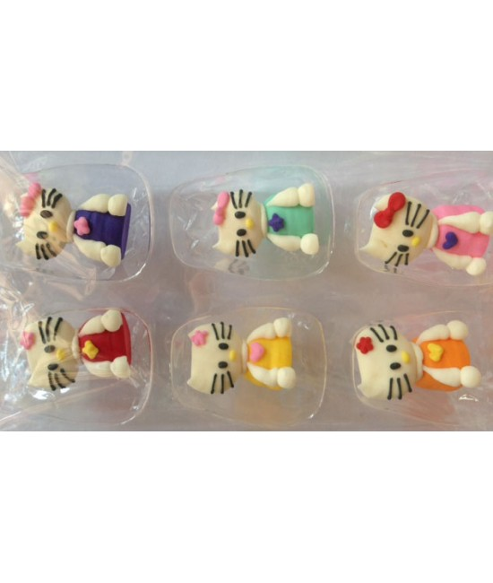 3D Hello Kitty Topper Assortment