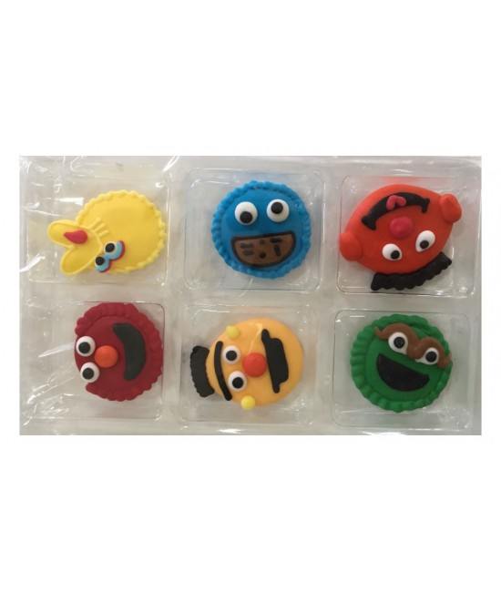 sesame street cake toppers sesame character topper best way baking 7302